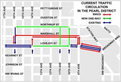 New Pearl District Traffic Circulation Map